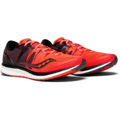 saucony Liberty ISO - Chaussures running Femme - rouge Collections Livraison Gratuite Recommande Pas Cher DPSF3